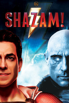 Póster Shazam - Good vs Evil