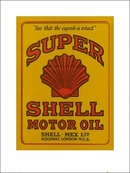 Shell - Adopt The Golden Standard, 1928 Kunstdruck