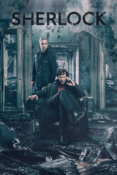 Poster Sherlock - Destruction