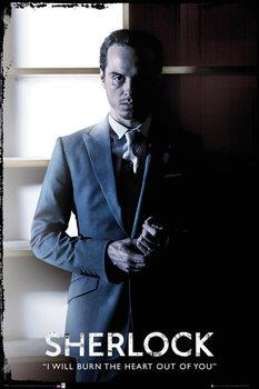 Poster Sherlock - Moriarty