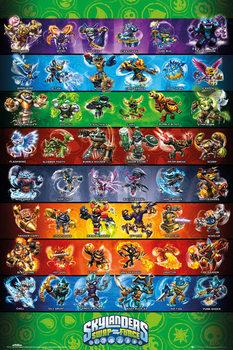 Poster Skylanders swap force - Force Compilation