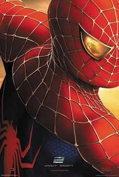 Poster Spiderman 2 - July 2004