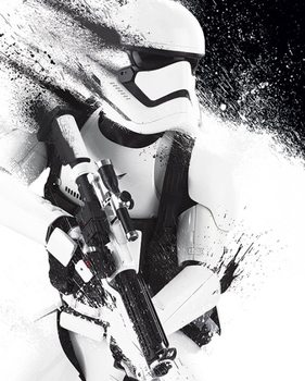 Star Wars Episod VII: The Force Awakens - Stormtrooper Paint poster