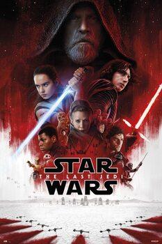 Póster Star Wars: Episodio VIII - Los últimos Jedi - One Sheet