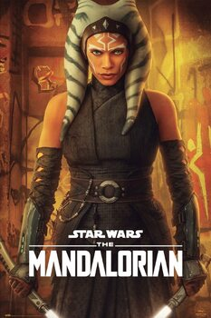 Póster Star Wars: The Mandalorian - Ashoka Tano