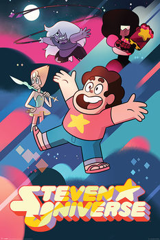 Poster Steven Universe - Into Action