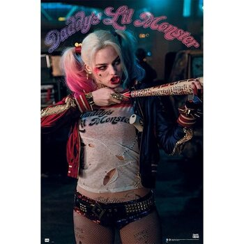 Póster Suicide Squad - Harley Quinn