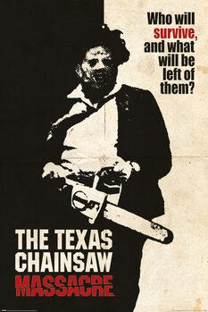 Плакат Texas Chainsaw Massacre - Who Will Survive?