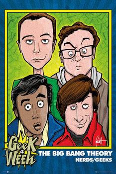 THE BIG BANG THEORY - Geeks Poster