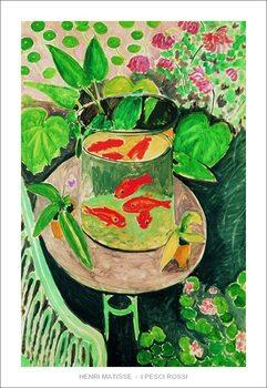 Konsttryck The Goldfish, 1912