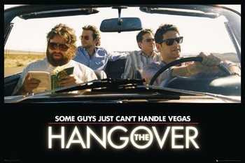Poster  THE HANGOVER - car