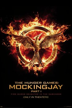 Poster  The Hunger Games: Mockingjay Part 1 - Härmskrika (Mockingjay)