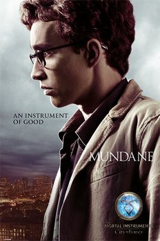 Poster THE MORTAL INSTRUMENTS : STAD AV SKUGGOR – simon