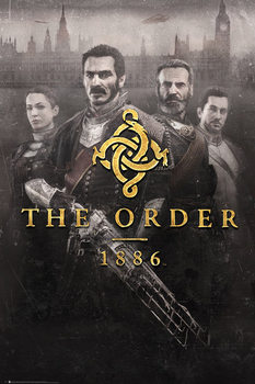 Poster The Order 1886 - Key Art