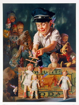 Poster The Puppeteer