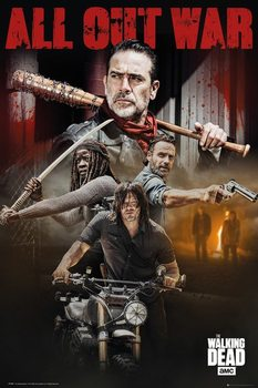 Poster  The Walking Dead - Season 8 Collage