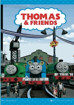 THOMAS AND HIS FRIENDS3D poster