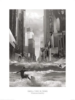 Thomas Barbey - Swell Time In Town Kunstdruck