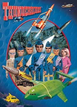 Poster Thunderbirds - Puppets