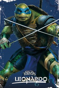 Póster Tortugas ninja - Leonardo