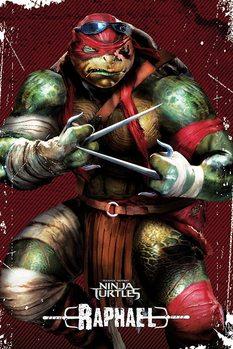 Póster Tortugas ninja - Raphael