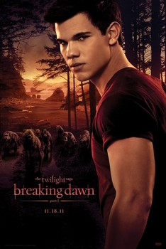 Poster TWILIGHT - breaking dawn / jacob & wolfpack
