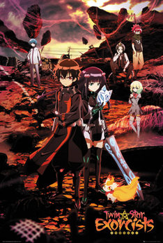 Poster Twin Star Exorcists - Twin Star Exorcists Key Art