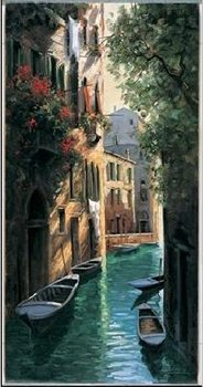 Konsttryck Venetian reflections