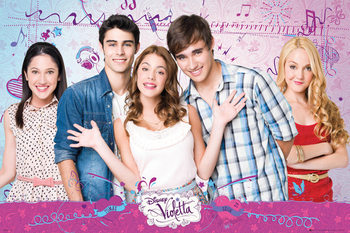 Poster VIOLETTA - Cast