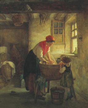 Poster Washing Day
