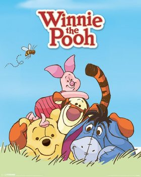 Poster Winnie Puuh - Characters