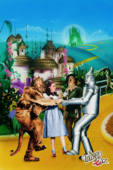 Poster  WIZARD OF OZ - yellow brick road
