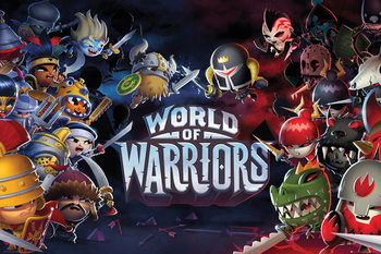 Poster World of Warriors - Characters