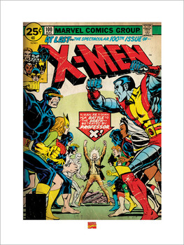 X-MEN  Kunstdruck