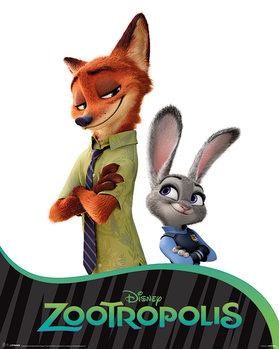 Poster Zootropolis - Characters