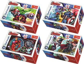 Puzzle Marvel - Avengers 4in1