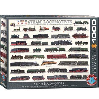 Puzzle Steam Locomotives