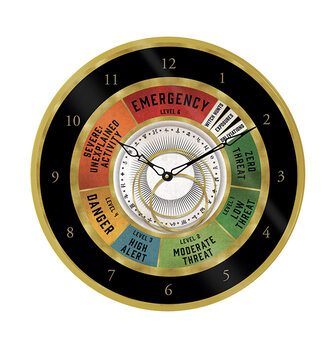 Zegar Fantastyczne zwierzeta