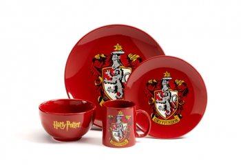 Zestaw obiadowy Harry Potter - Gryffindor