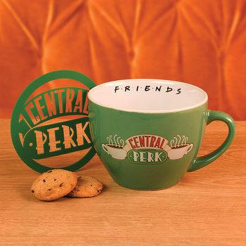 Hrnčeky Priatelia - Central Perk Green