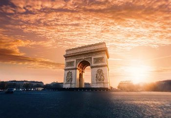 Arc De Triomphe Print på glas