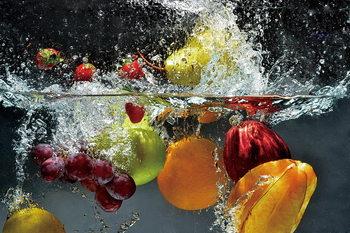 Fresh Fruit Print på glas