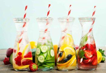 Refreshing Print på glas