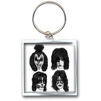 Kiss - Graphite Faces Privjesak za ključeve