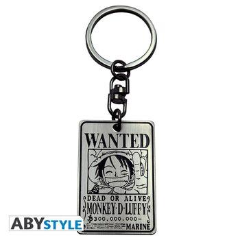 Privjesak za ključ One Piece - Wanted Fluffy