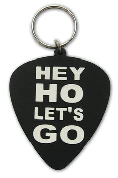 Ramones - Hey Ho, Let's Go (Plectrum) Privjesak za ključeve