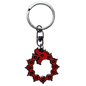 Privjesak za ključ The Seven Deadly Sins - Emblem