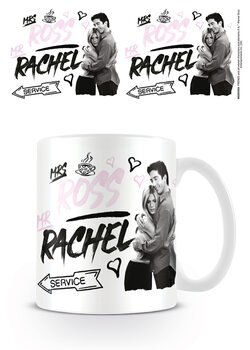 Kubek Przyjaciele - Mrs Ross Mr Rachel