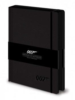James bond - 007 Logo  Premium A5 Notebook  Psací potřeby