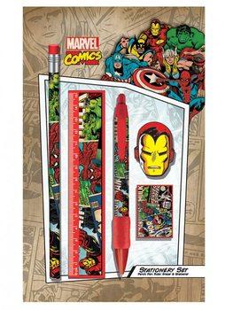 Marvel Retro - Montage stationery set Psací potřeby